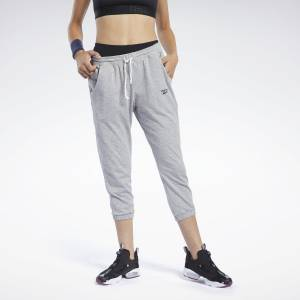 Reebok Training Essentials Women's Capri Pants in Grey