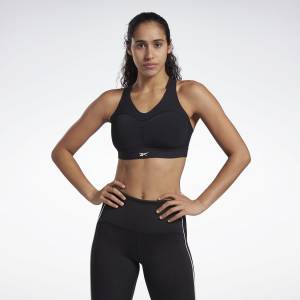 Reebok Women's Studio Puremove Plus Sports Bra in Black