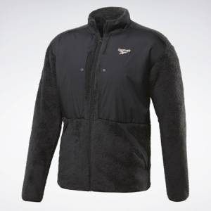 Reebok Classics Trail Men's Full Zip Jacket in Black