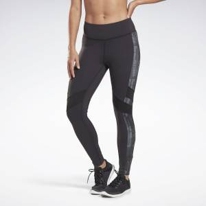 Reebok LES MILLS® Lux Women's Studio Tights in Black