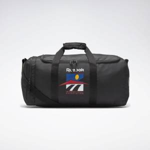 Reebok Classics Graphic IA Grip Bag in Black