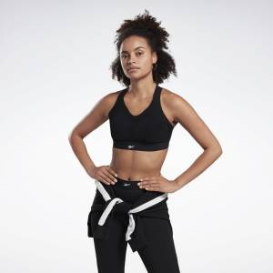 Reebok Women's Studio Puremove Sports Bra in Black