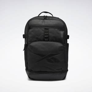 Reebok One Series Training Deruta Backpack XL in Black
