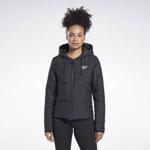 Reebok Women's Outerwear Core Padded Jacket in Black