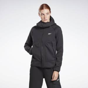 Reebok Women's Thermowarm Deltapeak Performance Jacket in Black