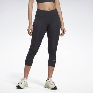 Reebok Women's Running Essentials 3/4 Tights in Black