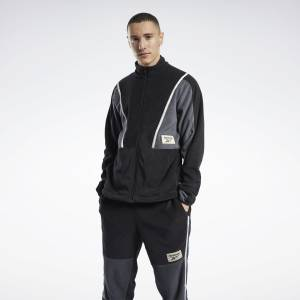 Reebok Classics Winter Escape Men's Track Jacket in Black