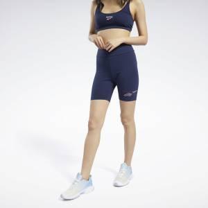 Reebok Women's Classics Legging Shorts in Navy