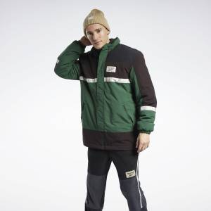 Reebok Classics Winter Escape Men's Jacket in Utility Green