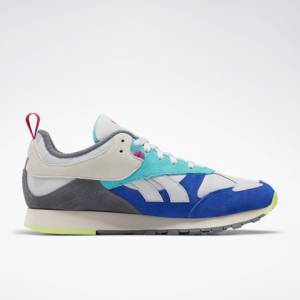 Reebok Classic Leather RC 1.0 Unisex Lifestyle Shoes in Grey / Blue