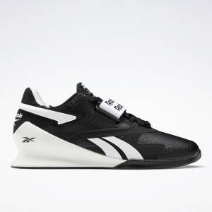 Reebok Legacy Lifter II Men's Weightlifting Shoes in Black / White