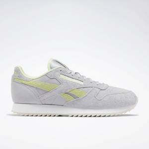 Reebok Classic Leather Ripple Unisex Shoes in Cold Grey