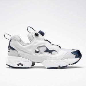 Reebok Unisex Instapump Fury Original Retro Running, Lifestyle Shoes in Grey