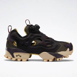 Reebok Unisex Instapump Fury Trail Retro Running Shoes in Black