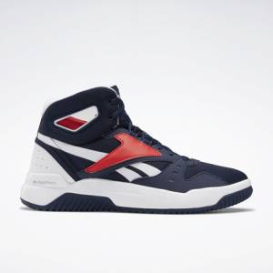 Reebok BB OS Mid Men's Retro Basketball, Lifestyle Shoes in Navy