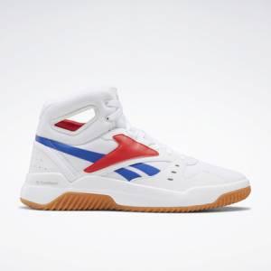 Reebok BB OS Mid Men's Retro Basketball, Lifestyle Shoes in White