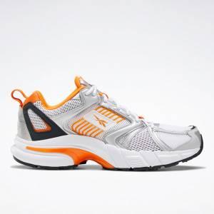 Reebok Unisex Premier Running Shoes in White / Silver
