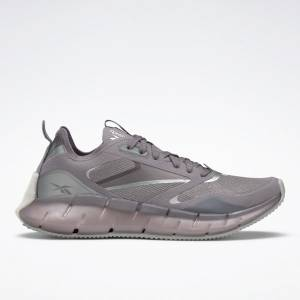 Reebok Women's Zig Kinetica Horizon Lifestyle Shoes in Grey / Pink