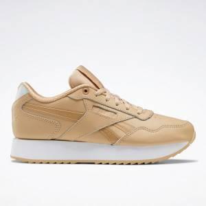 Reebok Classic Harman Run Ripple Double Women's Lifestyle Shoes in Beige