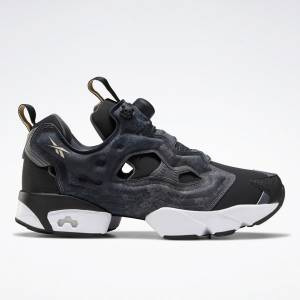 Reebok Unisex Instapump Fury OG Retro Running Shoes in Black