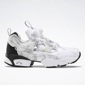 Reebok Unisex Instapump Fury OG Retro Running Shoes in White