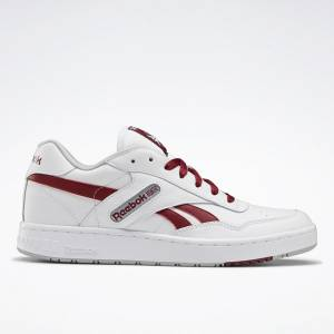 Reebok Unisex BB 4000 Basketball Shoes in White / Red