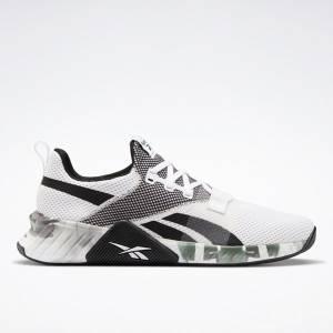 Reebok FLASHFILM™ Train 2 Men's Training Shoes in White / Black / Green