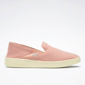 Reebok Cotton & Corn Women's Slip-On Lifestyle Shoes in Pink