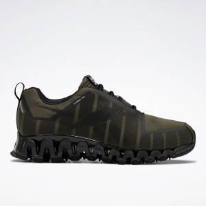 Reebok ZigWild Trail 6 Men's Running Shoes in Army Green