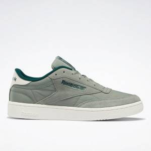 Reebok Club C 85 Men's Court Shoes in Harmony Green