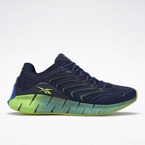 Reebok Unisex Chromat Zig Kinetica Lifestyle Shoes in Navy