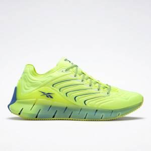 Reebok Unisex Chromat Zig Kinetica Lifestyle Shoes in Solar Yellow