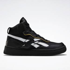 Reebok VB Dual Court Mid II Unisex Shoes in Black