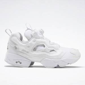 Reebok Unisex BlackEyePatch Instapump Fury OG Retro Running Shoes in White