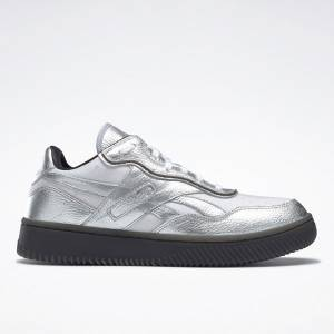 Reebok VB Dual Court II Unisex Shoes in Silver