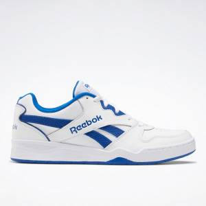 Reebok Royal BB4500 Low 2 Men's Basketball Shoes in White / Blue