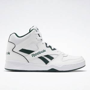 Reebok Royal BB4500 Hi 2 Men's Basketball Shoes in White / Green