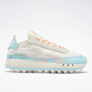 Reebok Legacy 83 Women's Running Shoes in White / Blue