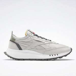 Reebok Unisex Classic Leather Legacy Lifestyle Shoes in Grey