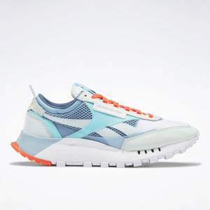 Reebok Unisex Classic Leather Legacy Lifestyle Shoes in Chalk Blue