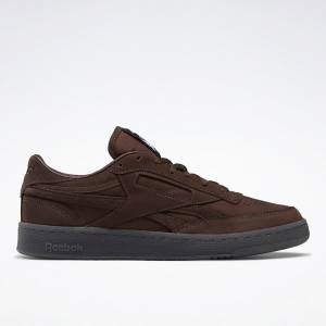 Reebok Club C Revenge Men's Court Shoes in Dark Brown