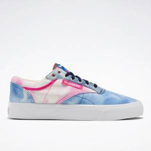 Reebok Unisex Club C Coast Court Shoes in Blue / Pink