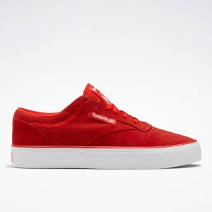 Reebok Unisex Club C Coast Court Shoes Shoes in Instinct Red