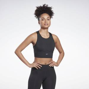 Reebok Run Women's High-Impact Running Sports Bra in Black
