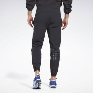 Reebok LES MILLS® Unisex Studio Woven Pants in Black