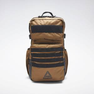 Reebok Unisex Training Day Backpack in Sepia