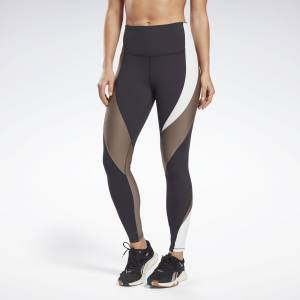 Reebok Lux Women's Training High-Rise Leggings in Black