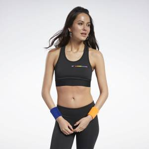 Reebok Women's Pride Crop Top in Black