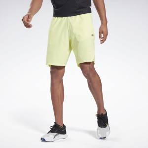 Reebok LES MILLS® Epic Men's Studio Shorts in Yellow