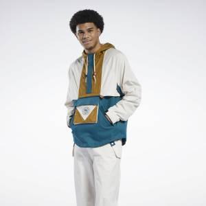 Reebok Unisex Classics Archive Anorak Jacket in Stucco
